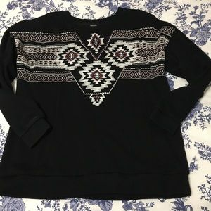 Forever 21 Top Sweatshirt  Sz Small Southwestern